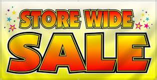 Spring 2017 Sale!