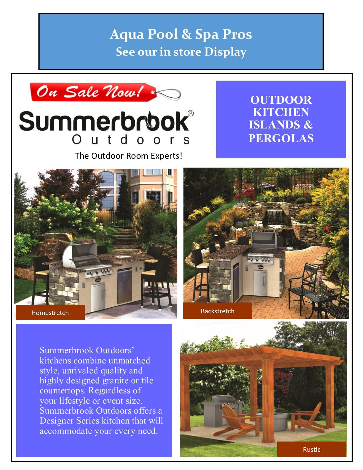 outdoor living on sale now aqua pool u0026 spa pros